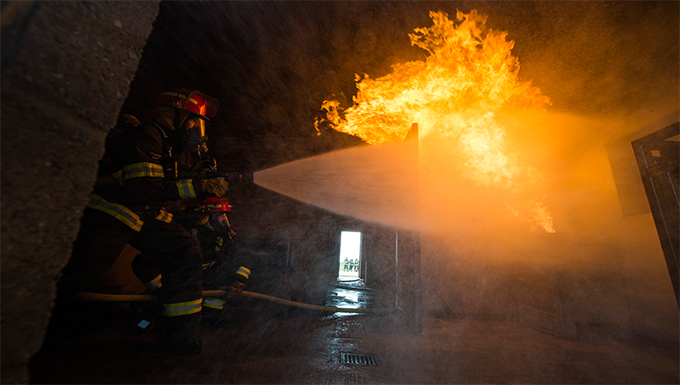 423rd Active Fire Training