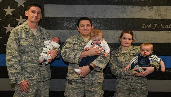 RAF Alconbury Welcomes Defender Babies