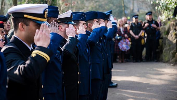 Mi Amigo flypast, memorial service touches millions