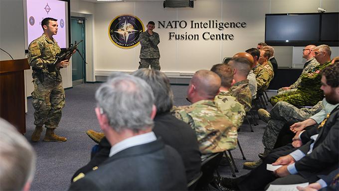 Civic Leaders visit RAF Molesworth