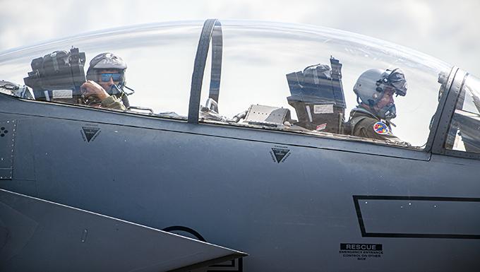 492d FS, RAF Fairford partner for ACE Exercise