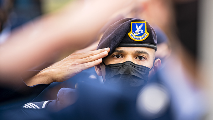 Pathfinders pay homage during 9/11 remembrance ceremony